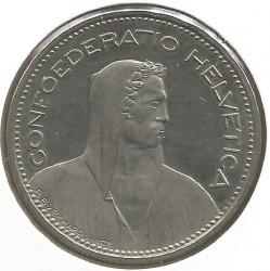 Moneta > 5franków, 1986 - Szwajcaria  - obverse
