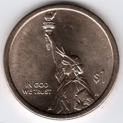 Coin > 1 dollar, 2018 - USA  (American Innovation) - obverse