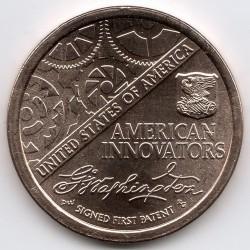 Moneta > 1dolar, 2018 - USA  (Amerykańska innowacja) - reverse