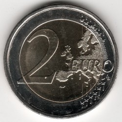 Minca > 2euro, 2018 - Grécko  (75th Anniversary - Death of Kostis Palamas) - obverse