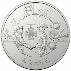 Монета > 20центів, 2018 - Австралія  (Дух АНЗАК - Хоробрий) - reverse