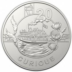 Монета > 20центів, 2018 - Австралія  (Дух АНЗАК - Допитливий) - reverse