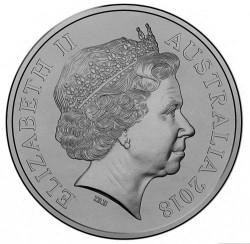 Moneda > 20centavos, 2018 - Australia  (Espíritu Anzac - Decisivo) - obverse