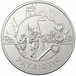 Moneta > 20centów, 2018 - Australia  (Duch Anzac - Patriotyzm) - reverse