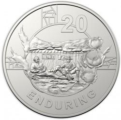 Moneta > 20centesimi, 2018 - Australia  (Spirito di Anzac - Duraturo) - reverse
