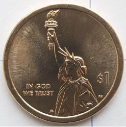 Moneta > 1doleris, 2018 - JAV  (American Innovation) - obverse