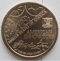 Moneta > 1doleris, 2018 - JAV  (American Innovation) - reverse