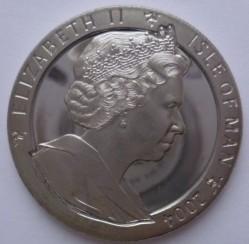 Moneda > 1corona, 2004 - Isla de Man  (XXVIII Juegos Olímpicos de verano, Atenas 2004 - Carreras) - obverse