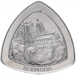 """Moneta > 1dolar, 1997 - Bermudy  (Wrak """"Sea Venture"""") - reverse"""