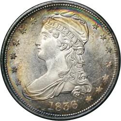 Νόμισμα > 50Σέντς, 1836-1837 - Η.Π.Α  (Capped Bust Half Dollar) - obverse