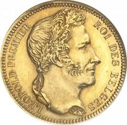 Moneta > 20franków, 1834-1841 - Belgia  - obverse