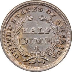 Moneda > ½dime, 1837-1838 - Estados Unidos  (Medio dime, libertad sentada) - reverse