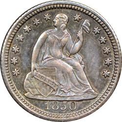 Coin > ½dime, 1838-1853 - USA  (Seated Liberty Half Dime) - obverse