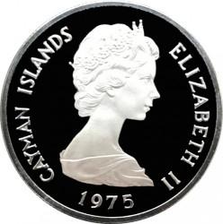 Pièce > 1dollar, 1972-1982 - Îles Cayman  - obverse