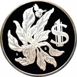 Pièce > 1dollar, 1972-1982 - Îles Cayman  - reverse