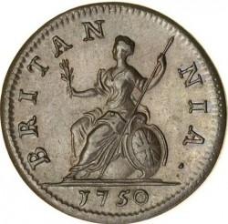 Moneda > 1farthing, 1741-1754 - Reino Unido  - reverse