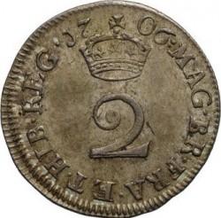 Νόμισμα > 2Πέννες, 1703-1713 - Ηνωμένο Βασίλειο  - reverse