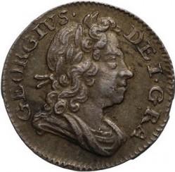 Кованица > 1пени, 1716-1727 - Уједињено Краљевство  - obverse