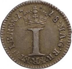 Кованица > 1пени, 1716-1727 - Уједињено Краљевство  - reverse