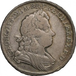 Moneda > ½corona, 1715-1726 - Reino Unido  - obverse