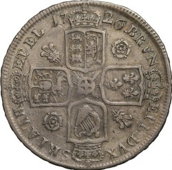 Moneda > ½corona, 1715-1726 - Reino Unido  - reverse