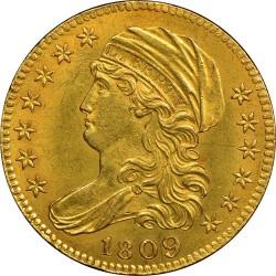 Moneda > 5dólares, 1807-1812 - Estados Unidos  (Busto cubierto) - obverse