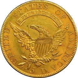 Moneda > 5dólares, 1807-1812 - Estados Unidos  (Busto cubierto) - reverse