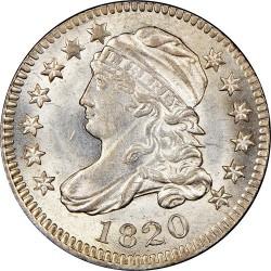 Νόμισμα > 10Σέντς, 1809-1828 - Η.Π.Α  (Liberty Cap Dime) - obverse