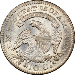 Νόμισμα > 10Σέντς, 1809-1828 - Η.Π.Α  (Liberty Cap Dime) - reverse