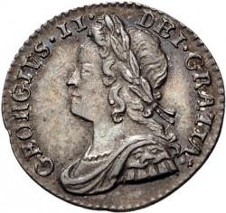 Moneda > 1penique, 1729-1760 - Reino Unido  - obverse