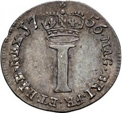 Moneda > 1penique, 1729-1760 - Reino Unido  - reverse