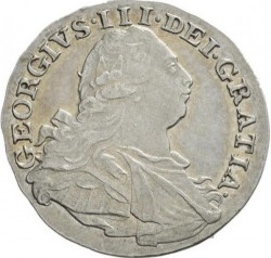 Coin > 3pence, 1795-1800 - United Kingdom  - obverse