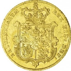 Coin > ½sovereign, 1826-1828 - United Kingdom  - reverse