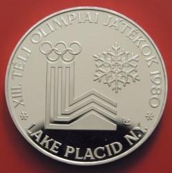 Moneta > 500forintų, 1980 - Vengrija  (XIII Olympic Winter Games, Lake Placid 1980) - reverse
