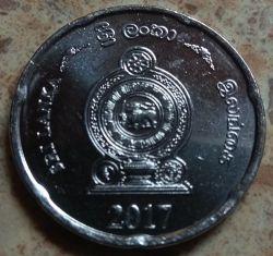 Монета > 2рупии, 2017 - Шри-Ланка  - obverse