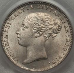 Pièce > 6pence, 1867-1880 - Royaume-Uni  - obverse