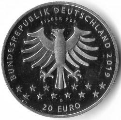 Moeda > 20euro, 2019 - Alemanha  (100th Anniversary - Women's Suffrage) - obverse
