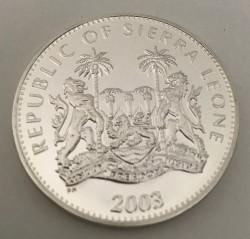 Moneda > 10dólares, 2003-2004 - Sierra Leona  (XXVIII summer Olympic Games, Athens 2004) - obverse