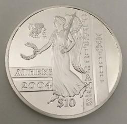 Moneda > 10dólares, 2003-2004 - Sierra Leona  (XXVIII summer Olympic Games, Athens 2004) - reverse