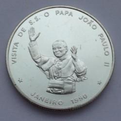 Moneta > 100eskudų, 1990 - Žaliasis Kyšulys  (Pope's Visit) - reverse