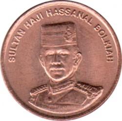 Pièce > 1sen, 1993-2006 - Brunei  - obverse