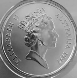 Coin > 1dollar, 1997 - Australia  (Kangaroo) - obverse