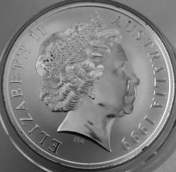 Coin > 1dollar, 1999 - Australia  (Pair of Kangaroos) - obverse