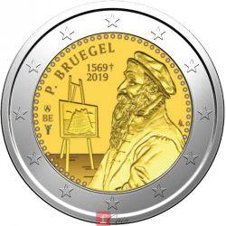 Moneda > 2euros, 2019 - Bélgica  (450th Anniversary - Death of Pieter Bruegel the Elder) - obverse