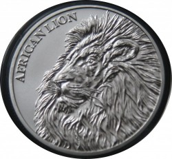 Moneta > 5000 franchi, 2018 - Chad  (African Lion) - obverse