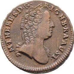 Moneta > 1krajcar, 1761 - Austria  (Maria Teresa) - obverse