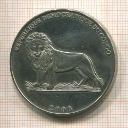 Монета > 5франков, 2000 - Конго - ДРК  (Бодуэн I - Король Бельгии ) - obverse