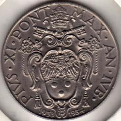 Monedă > 50centesimi, 1933 - Vatican  - obverse
