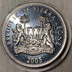 Moneta > 1dollaro, 2005 - Sierra Leone  (60° anniversario - Fine della seconda guerra mondiale. Raid del Telemark) - obverse