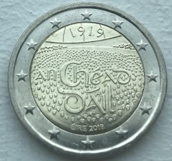 Moneta > 2 euro, 2019 - Irlanda  (100th Anniversary - 1st Meeting of Dáil Éireann) - reverse